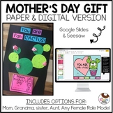 No Prep Mother's Day Gift Flip Flap and Craft