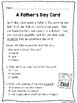 No Prep Mother's Day and Father's Day Speech and Language Pack