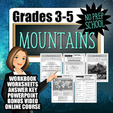 No-Prep Mountains Resource Pack