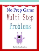 No Prep Multi-Step Word Problem Game 4.OA.A.3