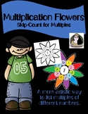 No-Prep Multiplication Flowers: LISTING MULTIPLES (1-10 or 1, 2, 5, and 10)
