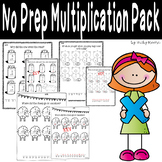 No Prep Multiplication Pack