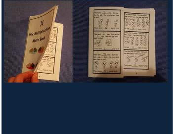 No Prep Multiplication Word Problem Books