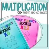 No Prep Multiplication for Factors 2-9