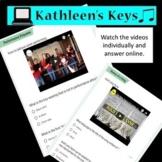 No Prep-Music Sub Plan Holiday/Winter - High School_Middle School Self Grading