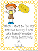 No-Prep: My Nervous Tummy Social Story and Worksheet Packet Bundle
