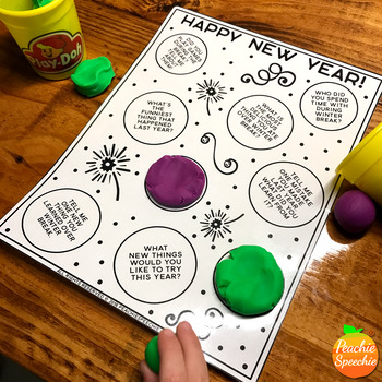 No-Prep New Year! {Speech Therapy}