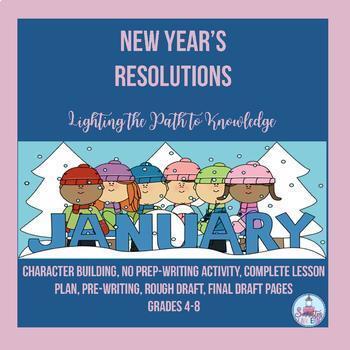 New years resolutions writing activity grades 6 8 by socrates new years resolutions writing activity grades 6 8 stopboris Choice Image