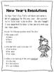 No Prep New Year's Speech and Language Pack
