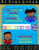 32 No Passage task cards to review for Reading SOL