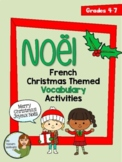 Noël - Christmas themed vocabulary activities for beginner French
