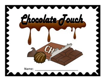 No Prep Novel Study Booklet: The Chocolate Touch