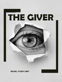 No Prep Novel Study: The Giver