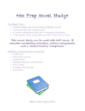 No Prep Novel Study for ANY Novel: Vocabulary, Writing, and Art Project