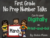 No Prep Number Talks - Digital or Print