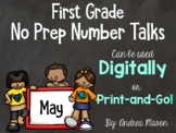 No Prep Number Talks - Digital or Print - Distance Learning