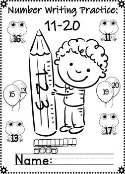 No Prep Numbers 11-20: Counting, Finding, and Building Number 11-20