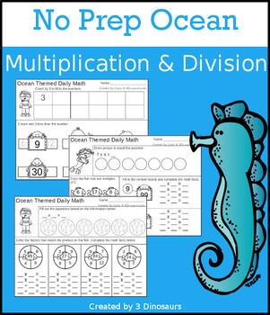 No Prep Ocean Multiplication & Division