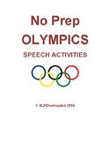 No Prep Olympics Speech Activities