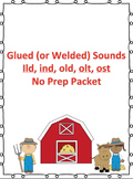 No Prep Packet for Glued (welded) Sounds
