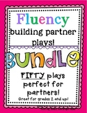 No Prep Partner Fluency Plays- FIFTY plays BUNDLE!!!! 2nd