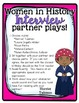 No Prep Partner Fluency Plays- Interviews with Women from History 2nd & 3rd Gr.