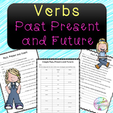 No-Prep - Past, Present, and Future Verbs