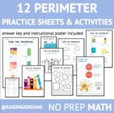 No Prep Perimeter Practice Sheets