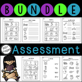 No Prep Phonics Assessment Bundle