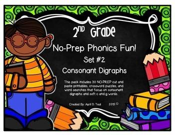 No-Prep Phonics Fun for 2nd Graders: Set 2