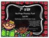 No-Prep Phonics Fun for 2nd Graders: Set 4
