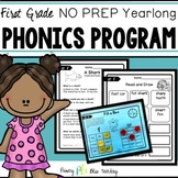 No Prep Phonics Reading Program for First Grade {Yearlong}
