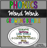 No Prep Phonics Word Work Printables {BUNDLE}
