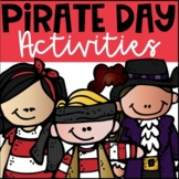 Pirate Day Activities and Worksheets