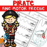 No Prep Pirate Fine Motor Freebie