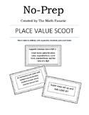 No-Prep Place Value SCOOT
