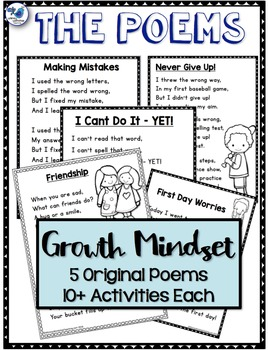 No Prep Poetry Growth Mindset