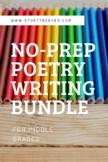 No-Prep Poetry Writing Bundle