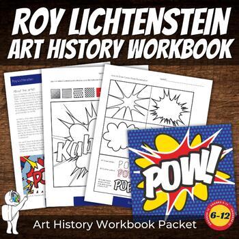 No Prep Pop Art History Lesson - Interactive Coloring Shee