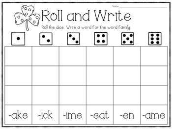1st Grade Printables for the Whole Year