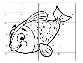 No Prep Pre-K/Kindergarten Ocean Theme