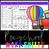 Preschool Transportation Worksheets