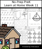 No-Prep PreK Learning At Home Week 11: Distance Learning