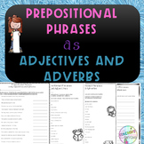 No-Prep - Prepositional Phrases modifiying Adjectives and Adverbs