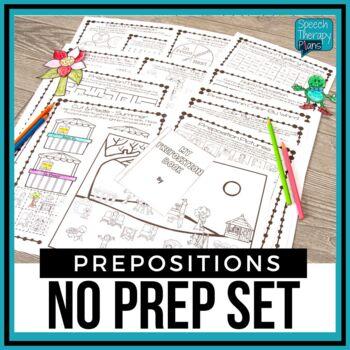 No Prep Prepositions