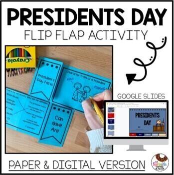No Prep President's Day Flip Flap