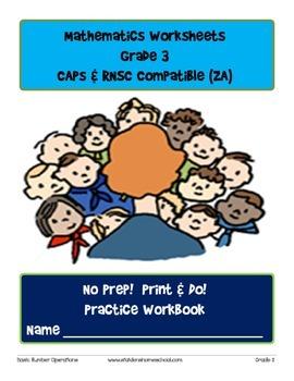 No Prep! Print & Do! Grade 3 Math Practice Workbook CAPs C
