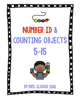 No Prep,Print & Go, Number ID, Counting & Coloring Objects Worksheets