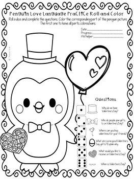 FREEBIE: No Prep Print and Go Dice Games-Valentine's Day