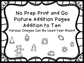 No Prep Print and Go Picture Addition